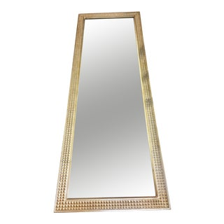 Gold Pressed Tin Style Wall Mirror