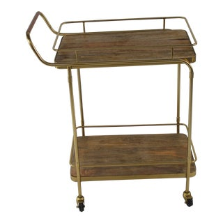 Mid-Century Modern Bar Cart