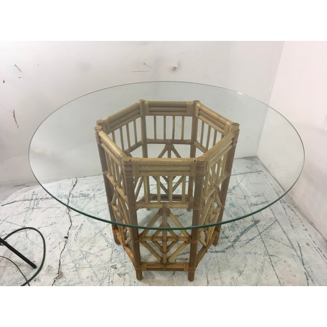 Rattan Consoles or Center Table - A Pair - Image 3 of 5