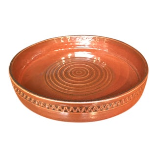 Rusty Brown Ceramic Bowl