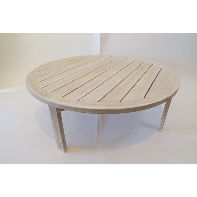 Image of Custom Teak Coffee Table