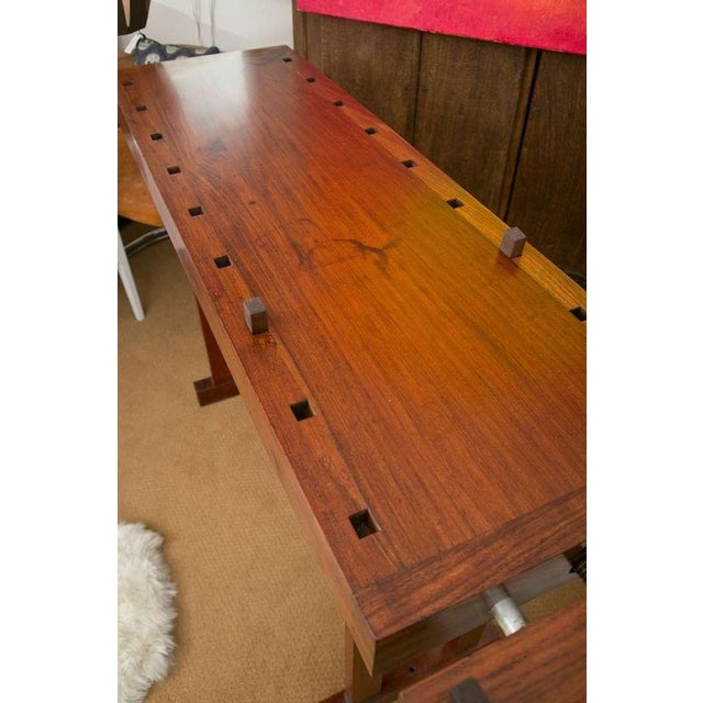 Rhodesian Teak Work Bench - Image 6 of 9