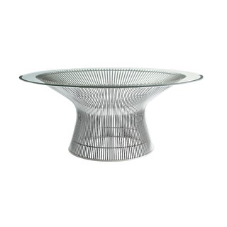 Warren Platner Nickel Coffee Table