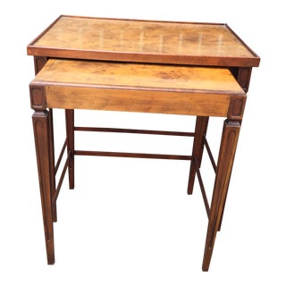 Pair Of Baker Nesting Tables