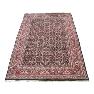 Persian Bidjar Handknotted Area Rug - 5′10″ × 9′