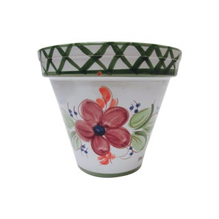 Vintage Monique Ceramica De Espada Planter Pot