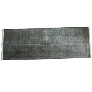 "Vintage Overdyed Distressed Runner - 4'10"" X 13'4"""