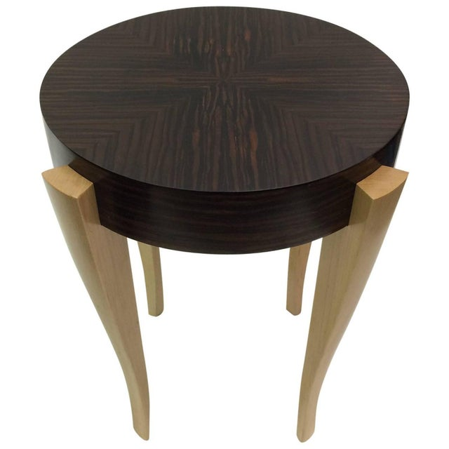 Gueridon Entry Table, Emile-Jacques Ruhlman Style - Image 1 of 3