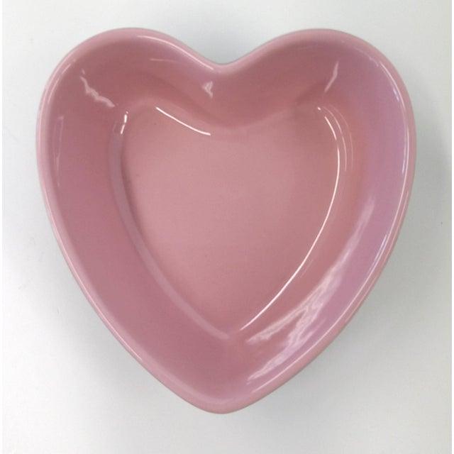 Chantal Pink Ceramic Heart-Shaped Bowl - Image 3 of 7