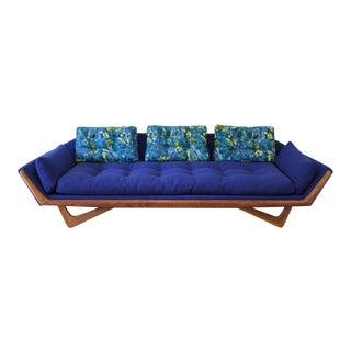 Adrian Pearsall Gondola Sofa & Pillows