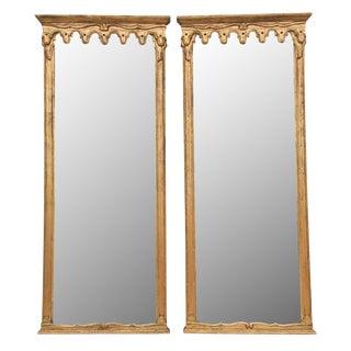 Italian Florentine Gilded Mirrors - A Pair