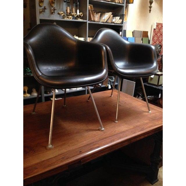 Black Herman Miller Chairs - a Pair - Image 3 of 6