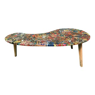 Retro Cornucopia Original Kidney Bean Coffee Table