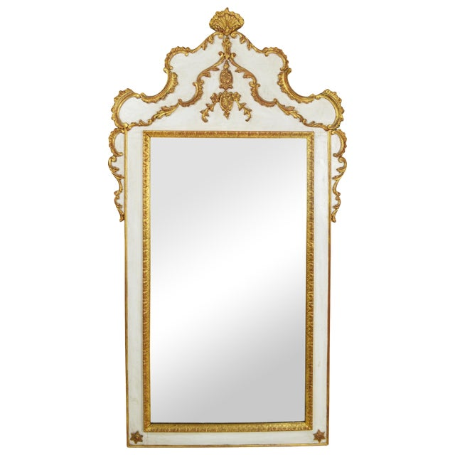 French Rococo Gilt Mirror - Image 1 of 5