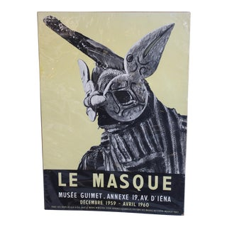 Vintage Musee Guimet French Poster