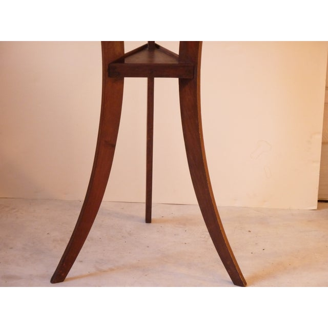 19th century walnut drink table chairish for Table th width ignored