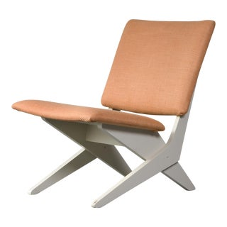 Upholstered chair by Peter van Grunsven. 1958.