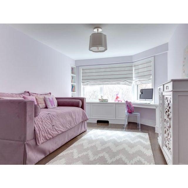 Ballard Designs Custom Upholstered Trundle Bed - Image 5 of 5