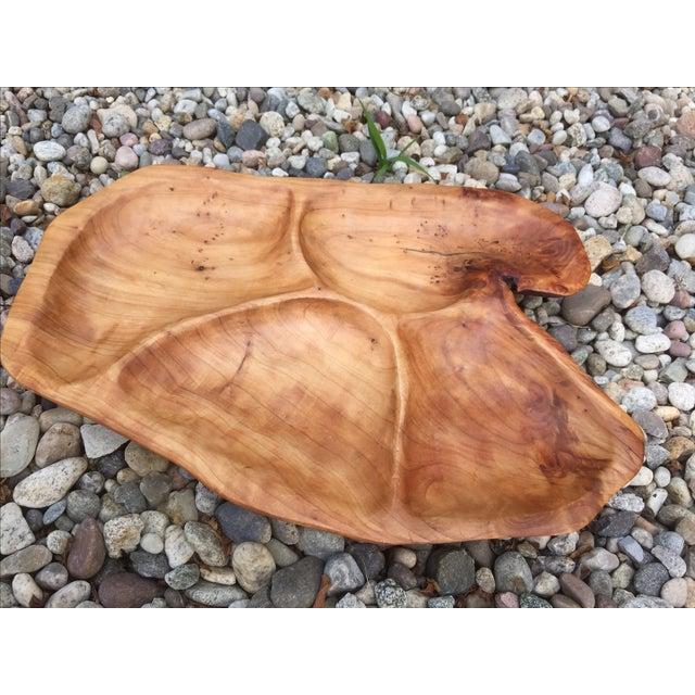 Large Natural Wood Tray - Image 6 of 9