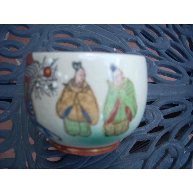 Vintage Chinoiserie Tea Seat - Set of 11 - Image 5 of 6
