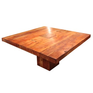 Jaxon Hom Custom Solid Cherry Dining Table