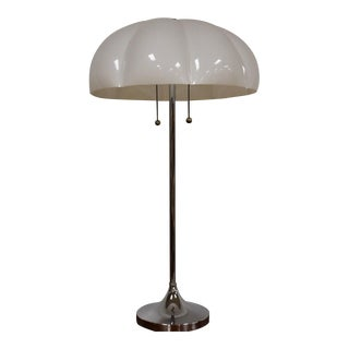 Vintage Modern Chrome Table Lamp