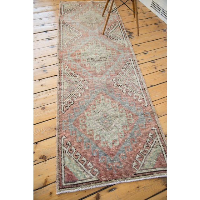 "Distressed Oushak Runner - 2'5"" X 7'5"" - Image 7 of 7"