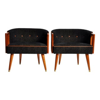Pair of Round Back Chair