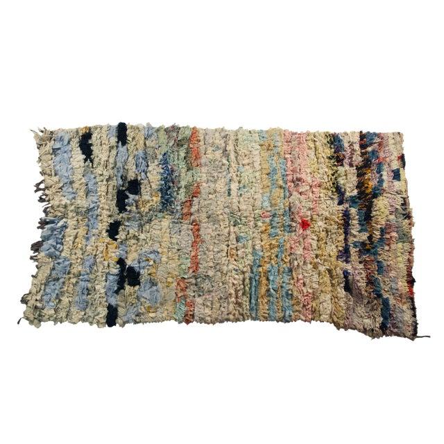 Vintage Boucherouite Rug Rag - 3′8″ × 6′ - Image 1 of 3