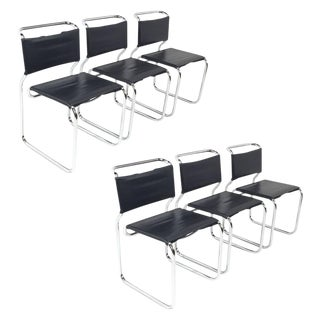 Nicos Zographos Cantilever Chairs - Set of 6