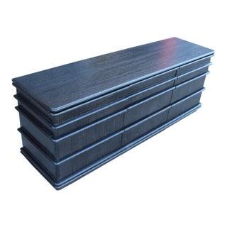 Jay Spectre Cerused Oak Post Modern Dresser