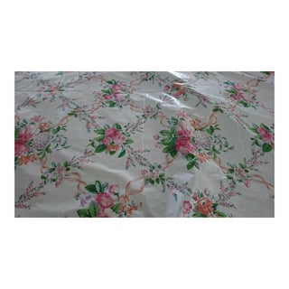 Flowers on Ivory Ludlow Melanie Fabric - 25.5 Yards