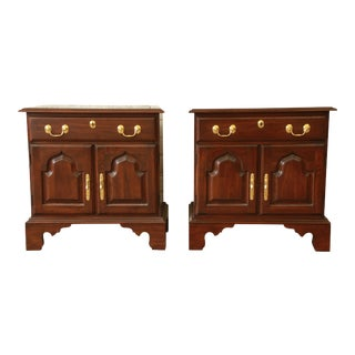 Harden Solid Cherry Nightstands - a Pair