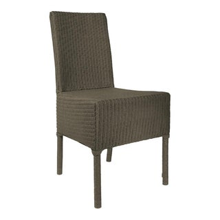 Janus Et Cie Deauville II Gray Outdoor Dining Side Chair