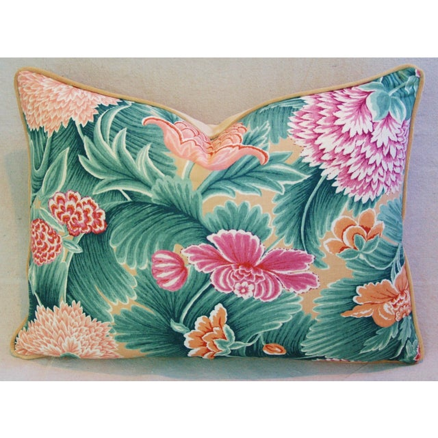 Designer Brunschwig & Fils Floral Pillow - Image 3 of 4