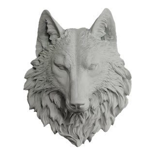 Wall Charmers Wolf in Gray