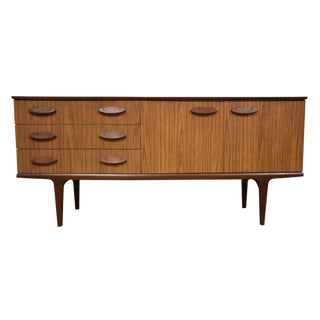 Mid-Century Teak and Formica Credenza
