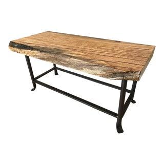 Custom Made Oak Bench
