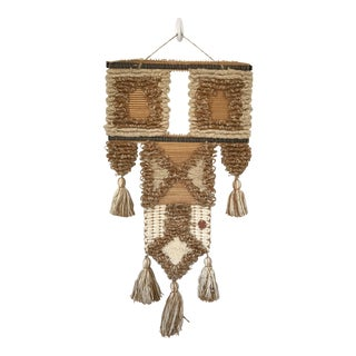 Vintage Don Freedman Macrame Wall Hanging