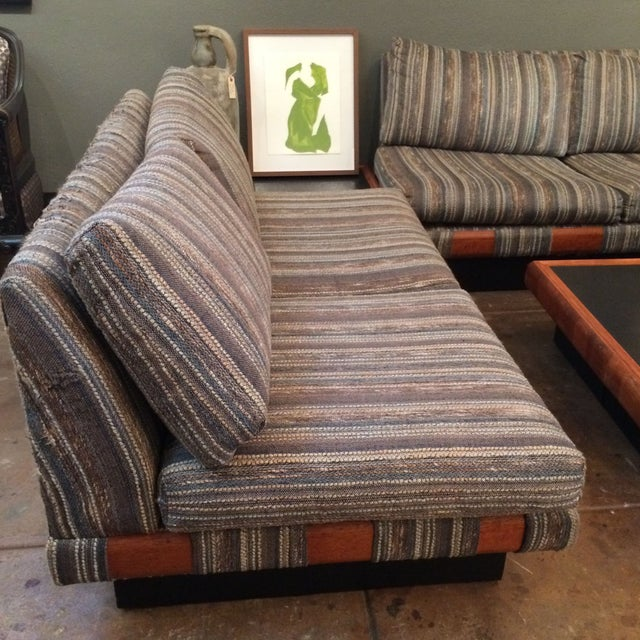 1960s Adrian Pearsall Platform Sofa and Table Set - Image 10 of 10