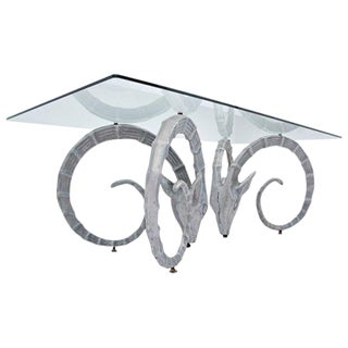 Silver Ibex Coffee Table