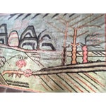 Image of Mid-Century Turkish Landscape Motiff Rug - 5′2″ × 8′8″