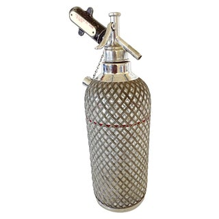 Seltzer Bottle With Wire Mesh