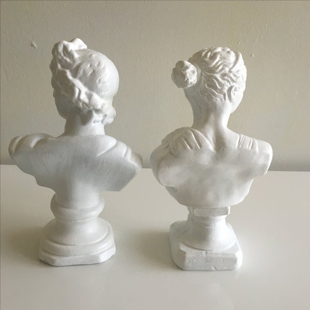 Vintage Greek Busts - Pair - Image 4 of 10
