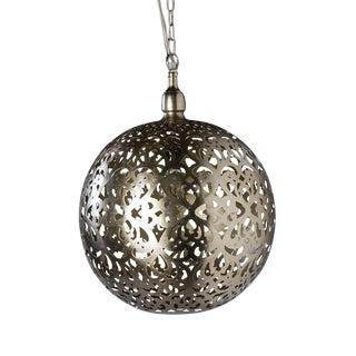 Franci Nickel Globe Lantern