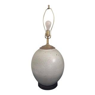 Vintage Brent Bennett Stoneware Lamp