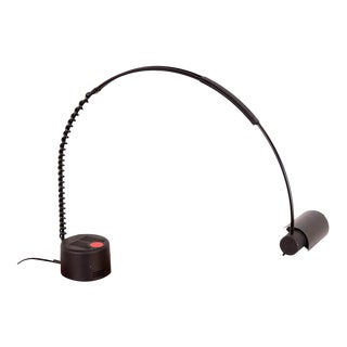 French 1980s Post-Modern Arching Coil Lamp for Europhane