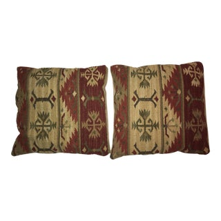 Vintage Kilim Pillows - A Pair