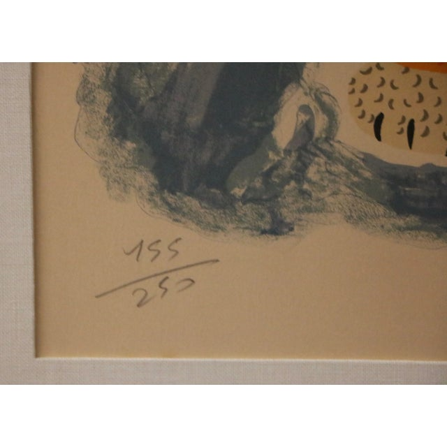 Tiger & Bird Lithograph by Henri Maik - Image 8 of 8