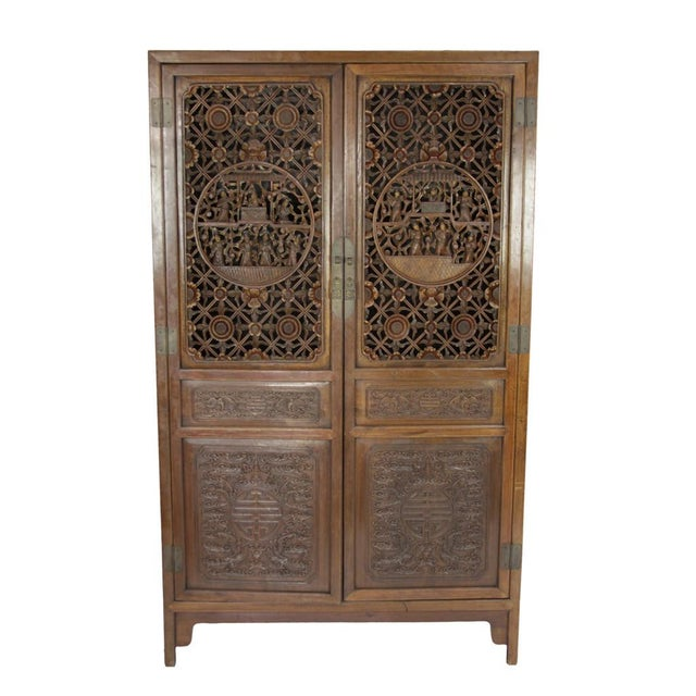 Mid 20th Century Asian Armoire - Image 1 of 8